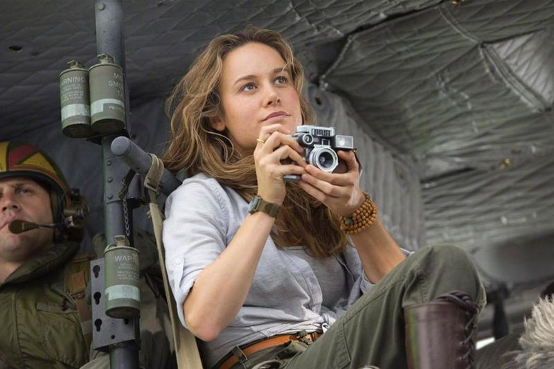 Brie Larson in Kong Skull Island-1620221557580