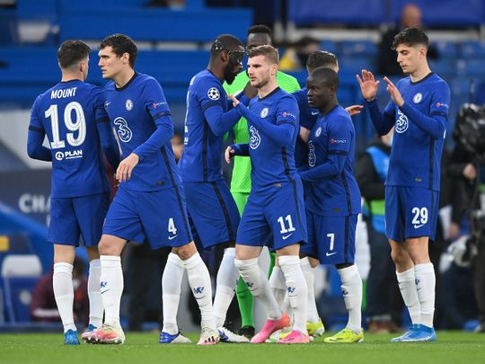 Chelsea have the upper hand against Real Madrid
