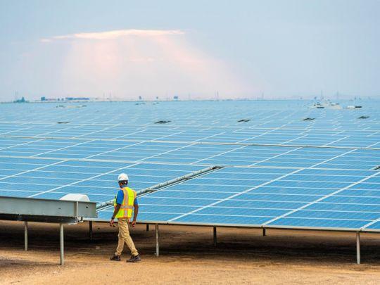EWEC solar plant