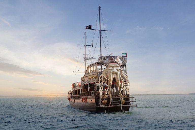 Black Pearl boat tour