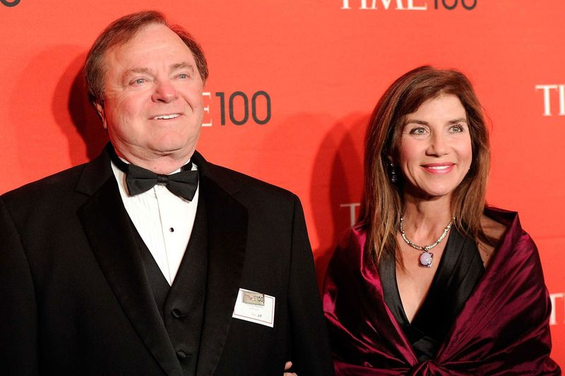 Continental Resources CEO Harold Hamm and his wife Sue Ann Hamm attend the TIME 100 gala, celebrating the 100 most influential people in the world, at the Frederick P. Rose Hall on Tuesday, April 24, 2012 in New York.