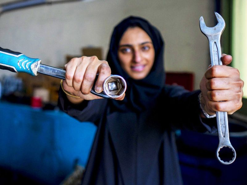 First Emirati woman mechanic: How Huda Al Matroushi is carving out her own place in a male-dominated industry in the UAE