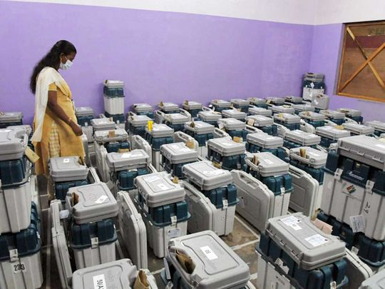 India kerala evm election