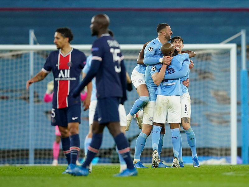 Manchester City progress to their first Champions League final while PSG's dreams are dashed.