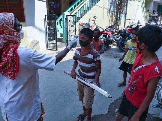 india covid health check
