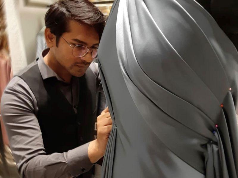 Jahir Mohammad Harun aka Zaheer Mohammed at his boutique in Pune, Maharashtra