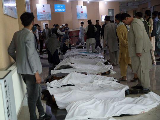 Kabul bomb explosion
