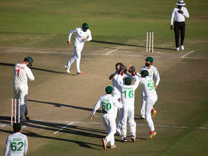 Cricket: Zimbabwe in big trouble against Pakistan in second Test