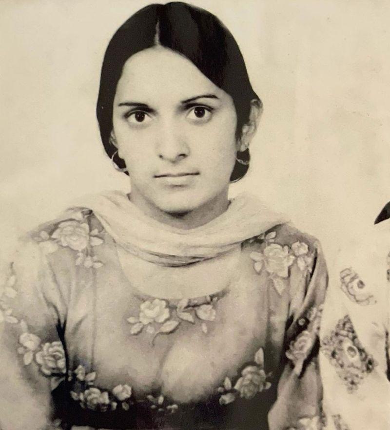Kangana Ranaut's mother