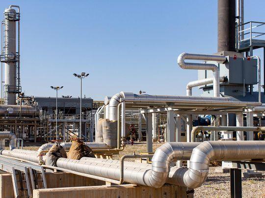 Khor Mor Gas Processing
