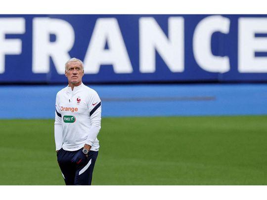 France's coach Didier Deschamps