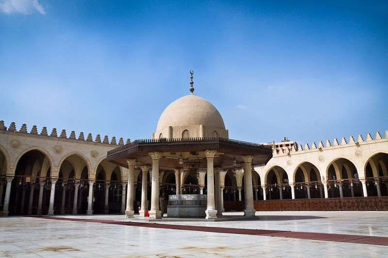 AMR IBN AL A'AS MOSQUE: