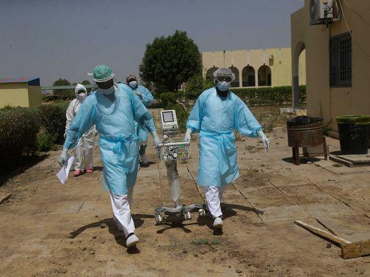 Doctors covid chad