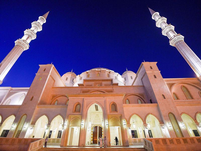 Grand Sheikh Zayed Mosque in Fujairah.