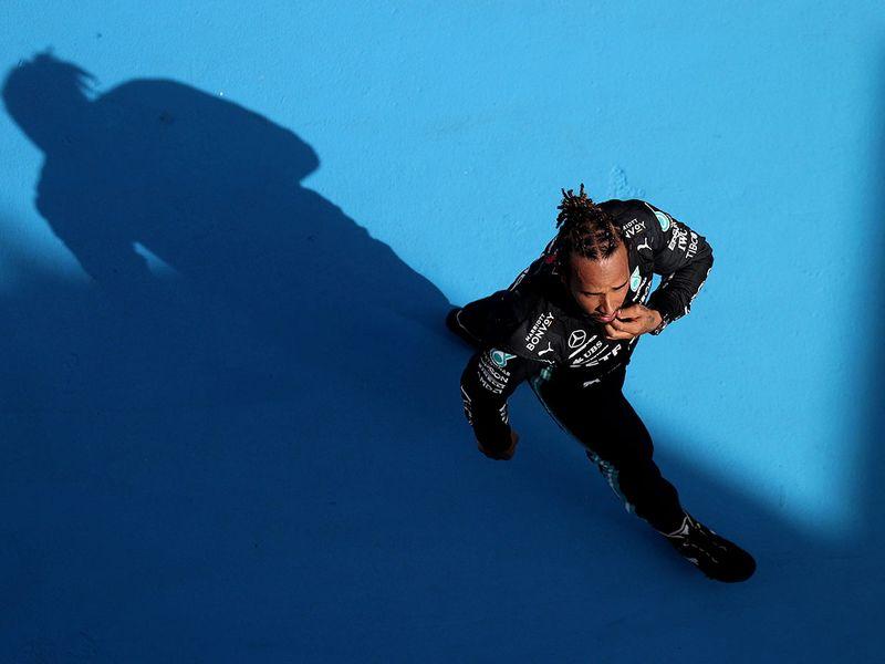 Lewis Hamilton after his Spanish Grand Prix win