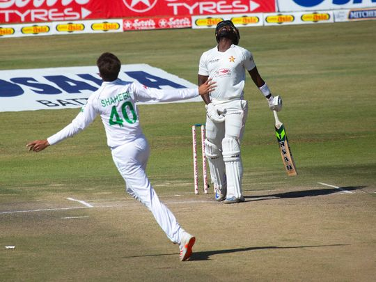 Pakistan wrapped up victory over Zimbabwe on day four of the second Test in Harare