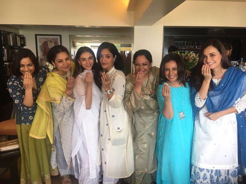 Shabana Azmi's Eid party