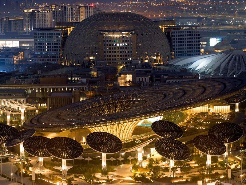 Stock EXPO 2020 Site 14