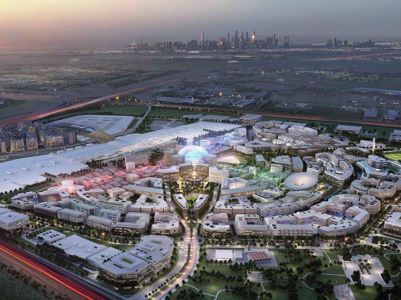 Stock EXPO 2020 Site 1