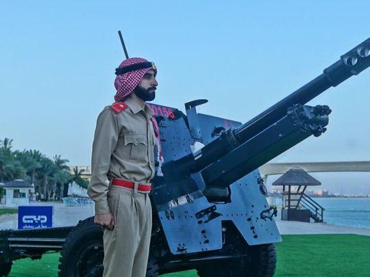 Dubai Police set up Eid Al Fitr Cannons at 5 Locations 2-1620725518839