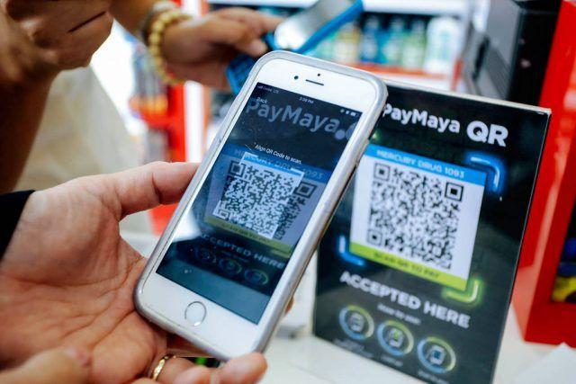 QR Paymaya Philippines ewallet digital cash