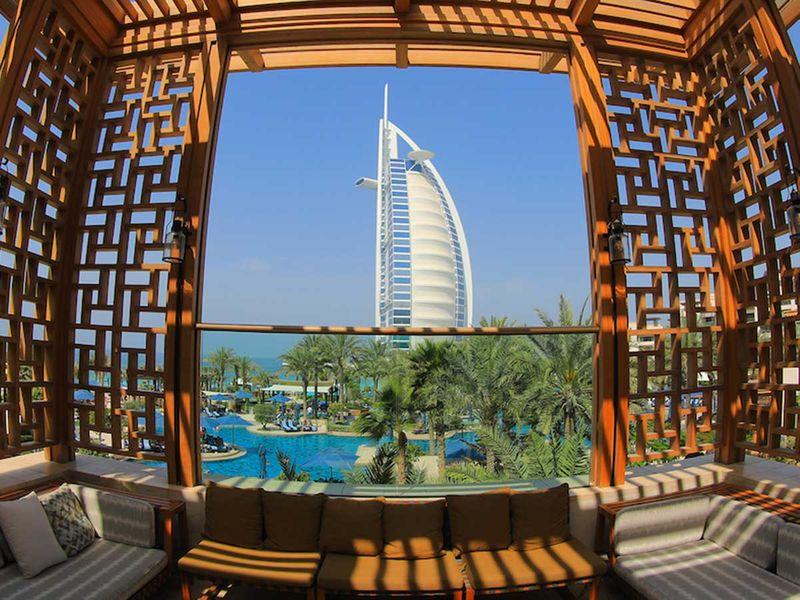 Stock Burj Al Arab Dubai