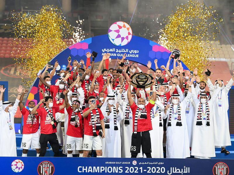 Al Jazira are crowned Ababian Gulf League champions