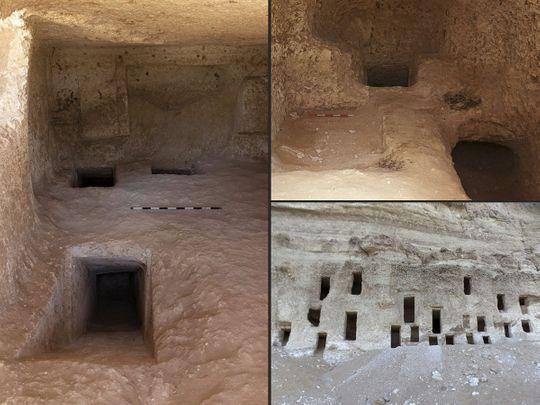 Égypte : un immense cimetière avec au moins 250 tombes taillées dans la roche (diaporama & vidéo sur Bidfoly.com) By Jack35 Egypt_1795f47ce22_medium