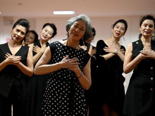 Fashion grandmas