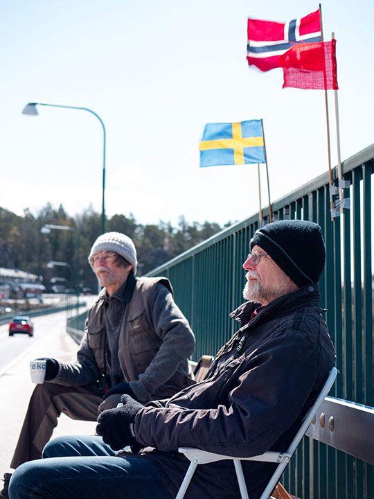 Pontus (L) and Ola Berglund