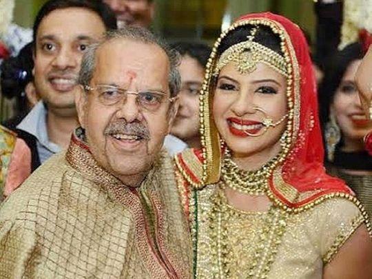 Sambhavna Seth and her father