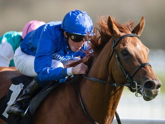 Horseracing - Hurricane Lane wins Dubai Dante Stakes