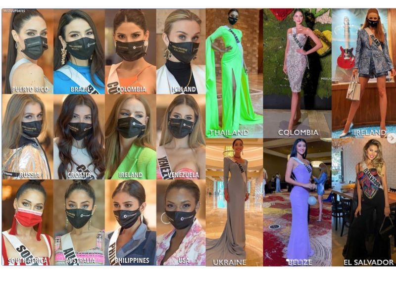 Masked beauties