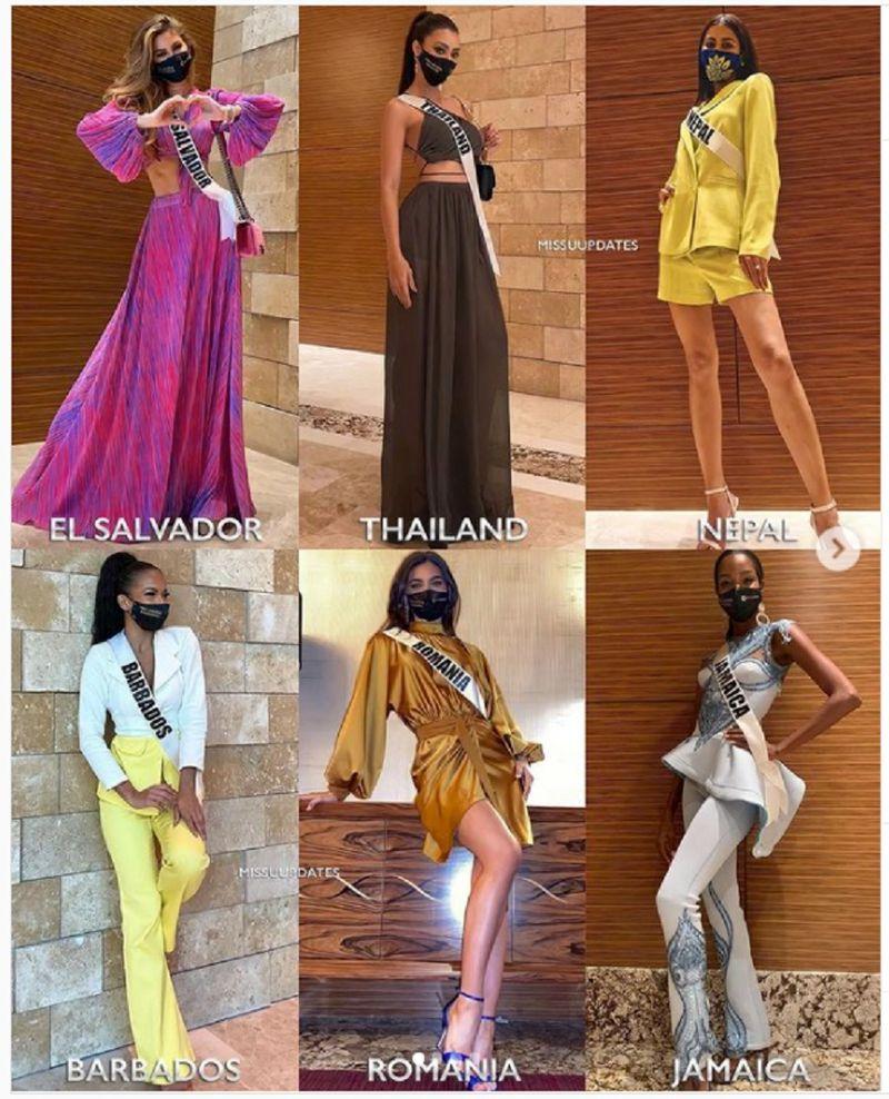 Miss U 2021 candidates