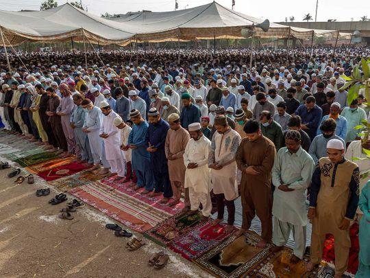 Pakistan eid covid karachi