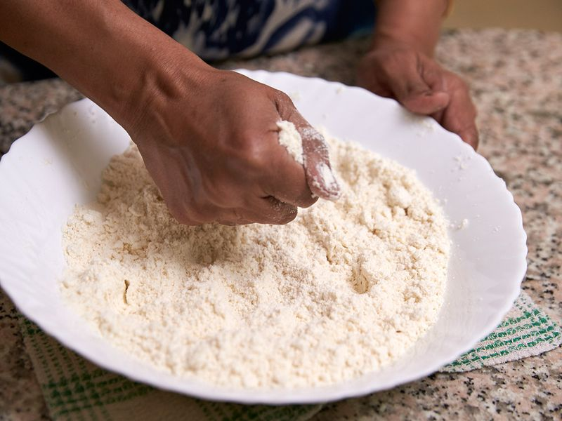 To achieve bread like consistency - Guide to making Luchi