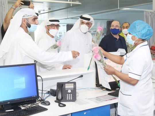 Nurses feted