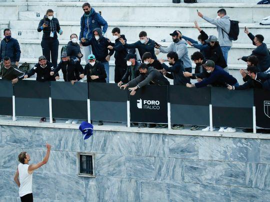 Tennis - Zverev at Rome