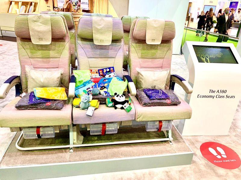 Economy seats A380