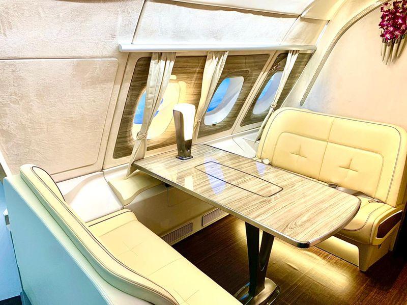 Emirates A380 replica ATM