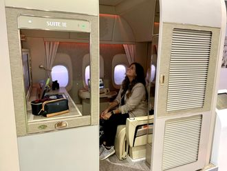 First class suite A380 replica