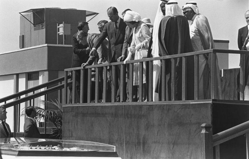 Queen Eizabeth Jebel Ali 1979