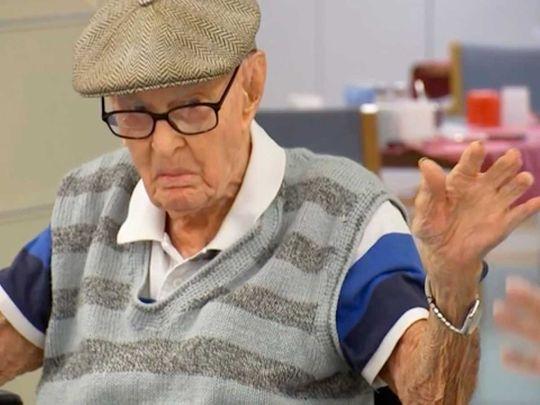 Australia Dexter Kruger oldest man