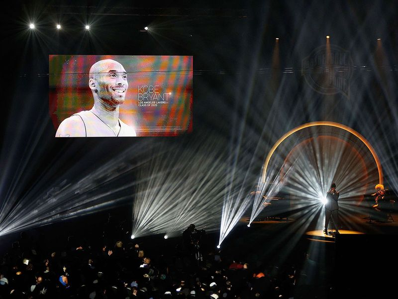 IN PICTURES: Kobe Bryant inducted into NBA Hall of Fame