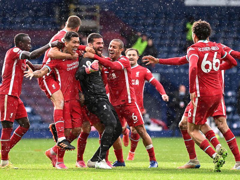 Goalscoring goalkeeper: Emotional Alisson saves Liverpool's season, with a goal