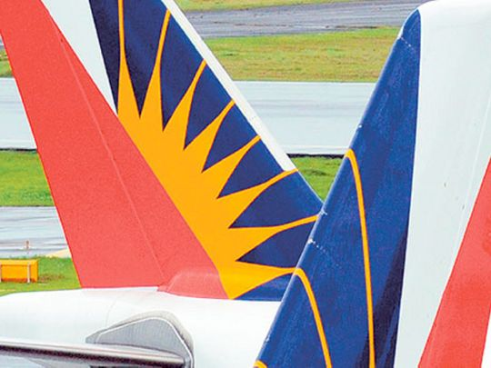 PAL Philippine Airlines logo livery