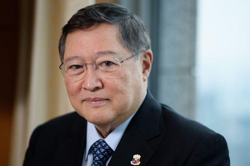 Philippine budget secretary Carlos Dominguez III