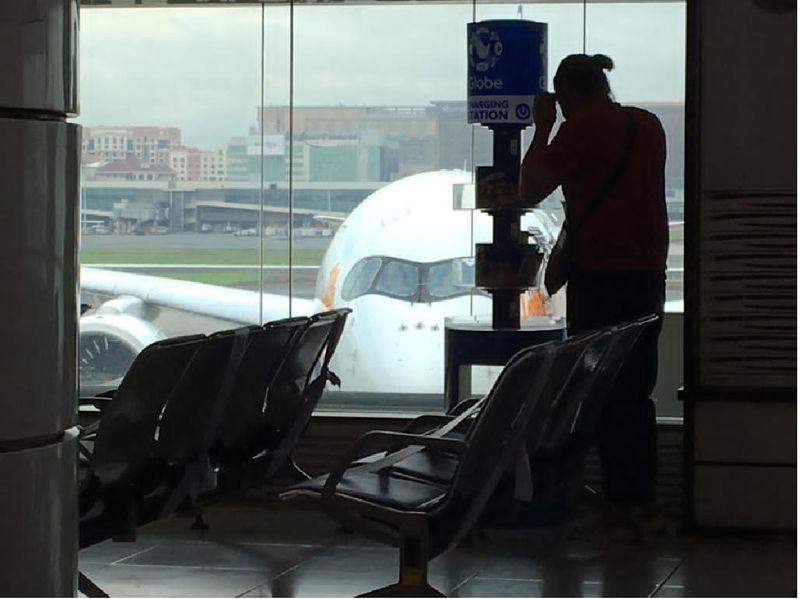 Terminal 2 Manila airport