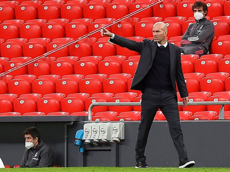 'It's a lie': Zinedine Zidane denies telling Real Madrid players he will leave at end of season
