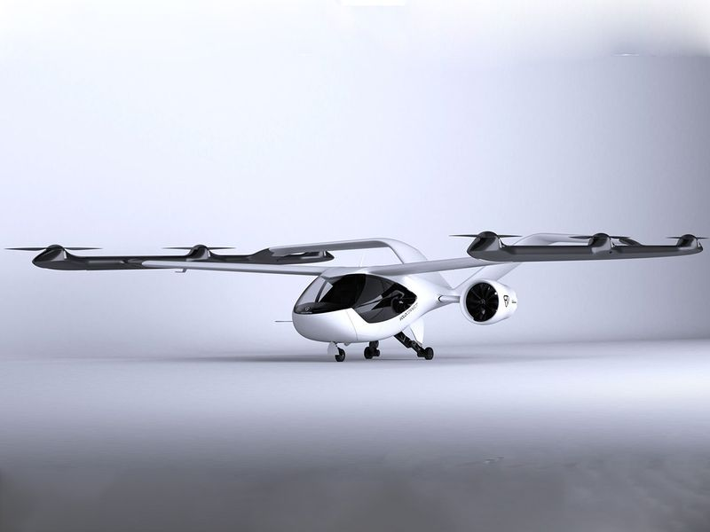 Air-taxi startup Volocopter unveils suburban shuttle